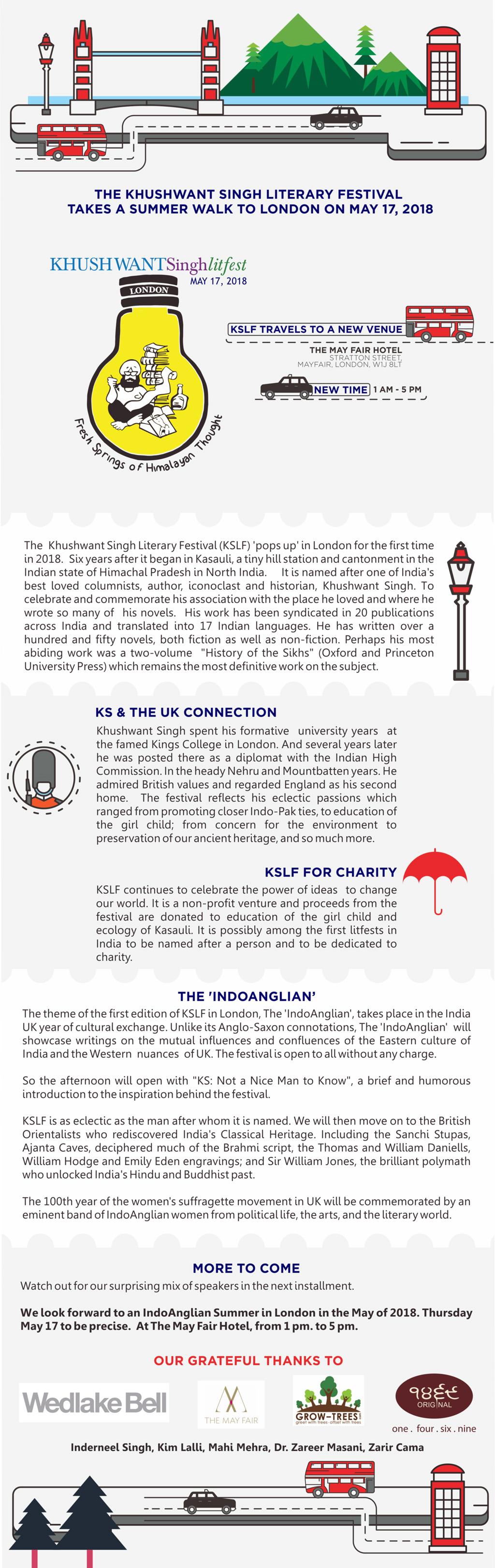 Khushwant Singh Literary Festival London